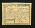 Colonial Notes:Rhode Island, Rhode Island July 2, 1780 $5 New. An otherwise Gem New note withexcellent margins, crisp paper and superb embossing that ha...