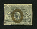 Fractional Currency:Second Issue, Fr. 1246 10c Second Issue New++. Razor sharp surcharges are found on this much scarcer variety which has good eye appeal and...