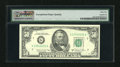 Error Notes:Ink Smears, Fr. 2121-G $50 1981A Federal Reserve Note. PMG Choice Uncirculated64.. This EPQ note carries an ink smear at back bottom ce...