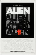 "Movie Posters:Science Fiction, Alien (20th Century Fox, 1979). One Sheet (27"" X 41"") Advance.Science Fiction.. ..."