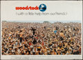 "Movie Posters:Rock and Roll, Woodstock (Warner Brothers, 1970). Subway (42.5"" X 59.5""). Rock andRoll.. ..."