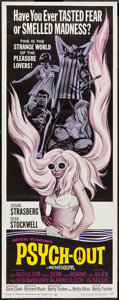 "Movie Posters:Exploitation, Psych-Out (American International, 1968). Insert (14"" X 36"").Exploitation.. ..."
