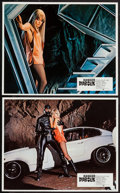 "Movie Posters:Crime, Danger: Diabolik (Paramount, 1968). French Lobby Cards (2) (9.25"" X 11.25""). Crime.. ... (Total: 2 Items)"