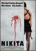 "Movie Posters:Crime, La Femme Nikita (Gaumont, 1990). German A1 (23"" X 33""). Crime.. ..."