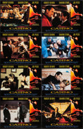 """Movie Posters:Crime, Casino (Universal, 1995). Lobby Card Set of 8 (11"""" X 14""""). Crime..... (Total: 8 Items)"""