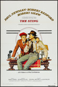"""Movie Posters:Crime, The Sting (Universal, 1974 & R-1977). One Sheets (2) (27"""" X41"""") Flat Folded. Crime.. ... (Total: 2 Items)"""