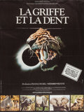 """Movie Posters:Documentary, Fang and Claw (Les Films du Paradoxe, 1976). French Grande (46"""" X 61""""). Documentary.. ..."""