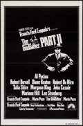 "Movie Posters:Crime, The Godfather Part II (Paramount, 1974). One Sheet (27"" X 41"") FlatFolded. Crime.. ..."