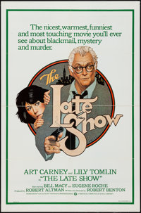 """The Late Show (Warner Brothers, 1977). International One Sheet (27"""" X 41""""). Crime"""