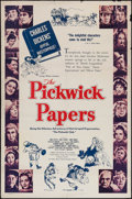 """Movie Posters:Comedy, The Pickwick Papers (Arthur Mayer-Edward Kingsley, 1952). One Sheet (27"""" X 41""""). Comedy.. ..."""