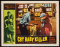 "Movie Posters:Crime, Cry Baby Killer (Allied Artists, 1958). Lobby Card (11"" X 14""). Crime.. ..."