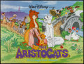 """Movie Posters:Animation, The Aristocats and Other Lot (Buena Vista, R-1980s). British Quads (2) (30"""" X 40""""). Animation.. ... (Total: 2 Items)"""
