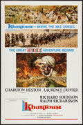 "Movie Posters:Adventure, Khartoum (United Artists, 1966). One Sheet (27"" X 41"") Road ShowCinerama Style. Adventure.. ..."