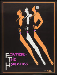 """Formerly the Harlettes (Unknown, 1977). Poster (25"""" X 33""""). Miscellaneous"""