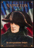 "Movie Posters:War, Napoleon (Atlas Film, R-1981). German A1 (23.5"" X 33""). War.. ..."