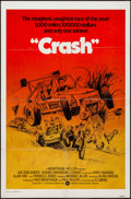 "Movie Posters:Sports, Checkered Flag or Crash (Warner Brothers, 1977). International One Sheet (27"" X 41""). Sports.. ..."