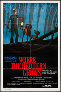 """Where the Red Fern Grows & Others Lot (Howco, 1974). One Sheets (6) (27"""" X 40"""" & 27"""" X 41"""")..."""