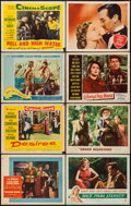 "Movie Posters:Adventure, The Buccaneer & Others Lot (Paramount, 1958). Lobby Cards (38)(11"" X 14""). Adventure.. ... (Total: 38 Items)"