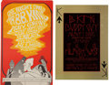 Music Memorabilia:Posters, B. B. King Concert Poster Group (Bill Graham, 1967-69).... (Total: 2 Items)