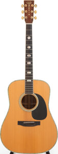 Musical Instruments:Acoustic Guitars, 1976 Martin D-41 Natural Acoustic Guitar, Serial # 372801....