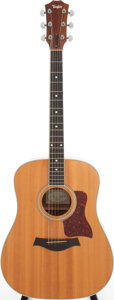 Musical Instruments:Acoustic Guitars, 2000 Taylor 410 Natural Acoustic Guitar, Serial # 20001103054....