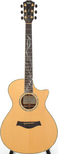 Musical Instruments:Acoustic Guitars, 2001 Taylor CBSM Natural Acoustic Guitar, Serial # 20010131152....