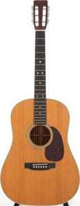 Musical Instruments:Acoustic Guitars, 1971 Martin D-28S Natural Acoustic Guitar, Serial # 309188....