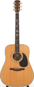 Musical Instruments:Acoustic Guitars, 2000s Alvarez PD 100 Natural Acoustic Guitar, Serial # C805110365. ...