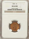 Indian Cents: , 1894 1C MS64 Red and Brown NGC. NGC Census: (162/62). PCGSPopulation (183/24). Mintage: 16,752,132. Numismedia Wsl. Price ...