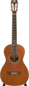 Musical Instruments:Acoustic Guitars, 2008 Washburn 125th Anniversary Natural Acoustic Guitar, Serial #R3165WKK....