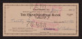 Baseball Collectibles:Others, 1959 Mickey Cochrane Signed Check. ...