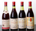 Red Burgundy, Chambolle Musigny. 1969 Les Amoureuses, B. Serveau Bottle(1). 1966 J. Drouhin 4.4cm, lbsl, tl Bottle (1)... (Total: 4Btls. )