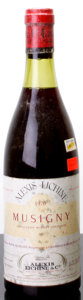 Red Burgundy, Musigny 1970 . Moine-Hudelot . 3.2cm, bsl, lcc, sdc. Bottle(1). ... (Total: 1 Btl. )