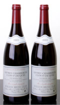 Red Burgundy, Gevrey Chambertin 2003 . Clos St. Jacques, B. Clair . Bottle(2). ... (Total: 2 Btls. )