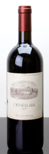 Italy, Ornellaia 1999 . L. Antinori . lbsl, ltl. Bottle (1). ...(Total: 1 Btl. )
