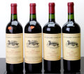 Domestic Merlot/Cabernet Franc, Duckhorn Merlot. Three Palms Vineyard. 1993 1lbsl, 2lnl, 1lwisl, 1sdc Bottle (2). 2000 lscl Bottle (1). 2001 ... (Total: 4 Btls. )