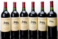 Domestic Merlot/Cabernet Franc, Duckhorn Merlot. 2000 Estate Grown 1lbsl, 1lscl Bottle (2). 2001 Estate Grown Bottle (1). 1999 Howel... (Total: 6 Btls. )