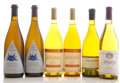 Domestic Chardonnay, Au Bon Climat Chardonnay. 1998 Why Not? Nuits-Blanches Bottle (2). Flora Springs Chardonnay. 1990 Barrel F... (Total: 17 Btls. )