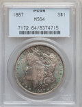 Morgan Dollars: , 1887 $1 MS64 PCGS. PCGS Population (54409/16160). NGC Census:(75748/29300). Mintage: 20,290,710. Numismedia Wsl. Price for...