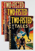 Golden Age (1938-1955):War, Two-Fisted Tales Group (EC, 1950-55) Condition: Average GD....(Total: 20 Comic Books)