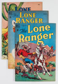 Golden Age (1938-1955):Western, Lone Ranger Short Box Group (Dell, 1950-57) Condition: AverageVG....