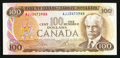 Canadian Currency: , BC-52b $100 1975.. ...