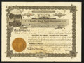 Miscellaneous:Other, Yavapai County, A(rizona) T(erritory)- Castle Rock Gold Company2000 Shares Dec. 28, 1903. ...