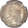 Bust Half Dollars, 1828 50C Square Base 2, Small 8's, Small Letters MS66 NGC. O-119,R.3....