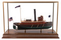 Maritime:Decorative Art, MODEL OF THE AMERICAN STEAM TUG BROOKLYN. 21 x 33 x 12-3/4 inches(53.3 x 83.8 x 32.4 cm). ...