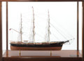 Maritime:Decorative Art, A SCALE SHIP MODEL OF SOVEREIGN OF THE SEA. 32 x 46 x 18inches (81.3 x 116.8 x 45.7 cm). ...