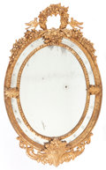 Decorative Arts, French:Other , A FRENCH CARVED GILT WOOD MIRROR . Circa 1900. 63 x 39-1/2 inches(160.0 x 100.3 cm). ...