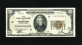Small Size:Federal Reserve Bank Notes, Fr. 1870-C $20 1929 Federal Reserve Bank Note. Very Fine.. This is a bright $20 with a dark overprint....