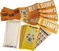 Music Memorabilia:Memorabilia, Beatles Vintage Stamps from 1964. A box of 23 vintage booklets of100 collectible Beatles stamps with four small promotional...(Total: 1 Item)