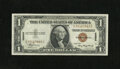 Small Size:World War II Emergency Notes, Fr. 2300 $1 1935A Hawaii Silver Certificate. Choice Crisp Uncirculated.. A lovely example of this popular Hawaii type that h...